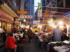Temple St., Hong Kong