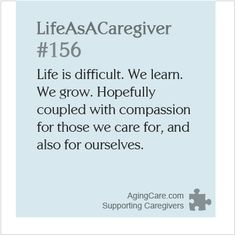 How has caregiving changed your life?  Read this caregiver's story, and add your voice to the ongoing discussion of coping with change while taking care of a loved one: http://www.agingcare.com/139977  #LifeAsACaregiver