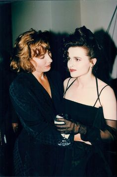 Helena Bonham Carter and Emma Thompson