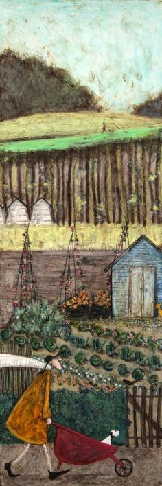 2015 'Summer: It's My Favourite' by Sam Toft (b1964; Staffordshire, a landlocked county in the West Midlands of England)