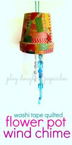 Flower Pot Wind Chim