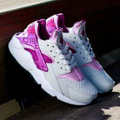 fcf77a441056 Nike WMNS Air Huarache Light Base Grey Light Arctic Pink Bright Grey Nike  Outfits