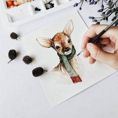Милые иллюстрации