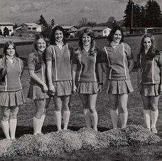 Cheerleaders c. late 1960's early 70's . . .