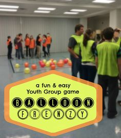 Two fun and easy Youth Group games (minimal supplies needed!)