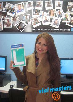 Heather se sacó el permiso de conducir en Autoescuelas Vial Masters... ¡Enhorabuena! ¡Ha sido un placer!     *Más en http://vialmasters.es