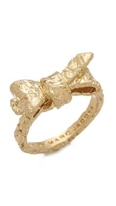 Marc by Marc Jacobs Exploded Bow Tiny Bow Ring