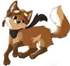 uma raposa de animal jam é uma coisa para membros mais é divertido!!