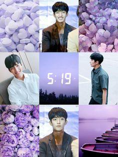 DK Moodboard #DK #Seokmin #purple #pastel #SVT #SEVENTEEN #Aesthetic #Moodboard