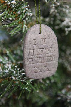 Day 8- 10 Commandments plus other Jesse Ornaments ideas