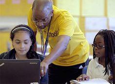 """Beyond the Factory Model; Oakland Teachers Learn How to Blend""  #blendedlearning"