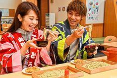 Handmade buckwheat noodles are the best!  #japankuru #japan #redleaves #handmade #yamagata #tendo #sobanoodles