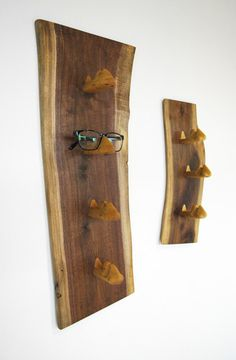 Custom Sunglass Display Rack: The Noses by Chris Han's Natural Crafts | Hatch.co