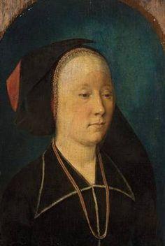 A Lady, ca. 1491 (Michel Sittow) (1469-1526) Location TBD