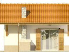 DOM.PL™ - Projekt domu KR DOMEK 6 CE - DOM KR5-83 - gotowy koszt budowy Outdoor Decor, Facades, Home Decor, Houses, Decoration Home, Room Decor, Facade, Home Interior Design, Home Decoration
