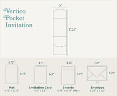 Vertico Pocketfold Sizing