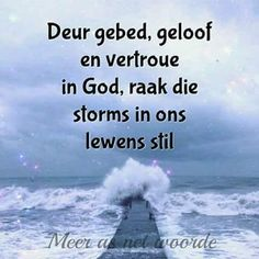 Lekker Dag, Jesus Our Savior, Afrikaanse Quotes, Good Morning Wishes, Religious Quotes, Bible Verses Quotes, True Words, Word Of God, Encouragement