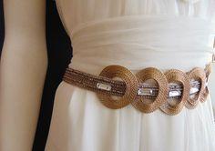 Cinturón joya modelo Monarca