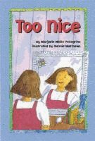 "Amy learns how to be friendly but more assertive about taking care of herself when she stops being ""too nice""."
