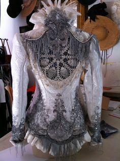 KathleenCrowleyCouture: Ka Kathryn June Amorastreya's Wedding Jacket