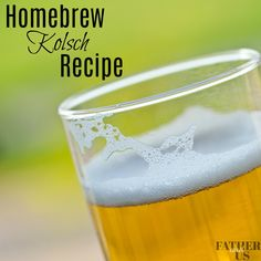 A simple, easy and tasty home extract homebrew beer recipe for a Kolsch ale. This is one of my favorite style ales that will please any crowd anytime of the year. But especially love this during the summer. Check out this recipe and get brewing! Make Beer At Home, Make Your Own Beer, How To Make Beer, Brewing Recipes, Homebrew Recipes, Beer Recipes, Simple Beer Recipe, Simple Recipes, Recipe Fr