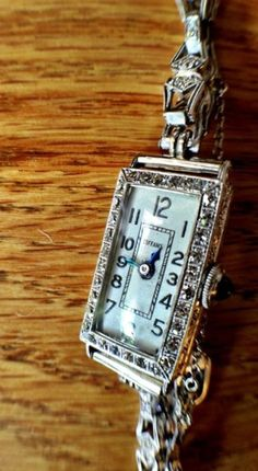 vintage Tiffany watch! so blessed to be able to wear this on my wedding day! melissamariephotography
