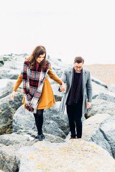 Beautiful Shoreham Beach & Brighton Bandstand Engagement: Mike & Amy | engagement | | wedding | | engagement photography| | couple | #engagement #wedding http://www.roughluxejewelry.com/