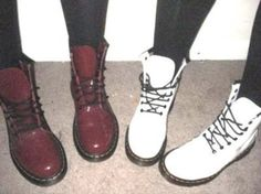 Doc Martens she wants both of these colors.