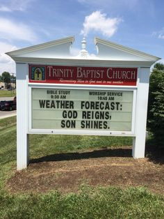 302 best Funny church signs/Christian humor images on Pinterest in ...