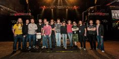 Spock's Beard, Beardfish and Sound of Contact, Inside Out Music 2013 tour photo!!!
