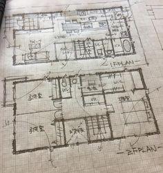 いいね!119件、コメント7件 ― 石川 元洋/一級建築士、インテリアコーディネーターさん(@motohiro_ishikawa)のInstagramアカウント: 「36坪の間取り。午前中の打ち合わせ2時間で出来た間取り…」