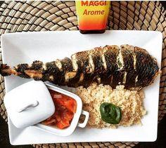 #attieke #fish #sauce  #repost with @africanfoodiies #africanfood #foodstagram…