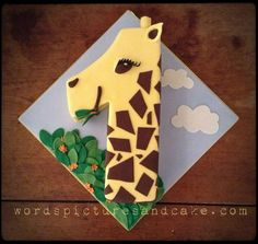 Geraldine, the Number 1 Giraffe Cake. Literally.