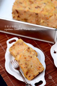 Coco's Sweet Tooth ......The Furry Bakers: 全素金银萝卜糕 Vegetarian Carrot and Radish Cake
