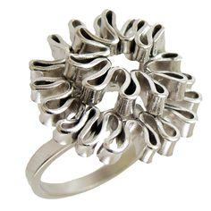 Emmanuela.gr - Handmade Jewelry - Rings :: Sterling Silver Pinky ring Jewelry Collection, Jewelry Rings, Handmade Jewelry, Jewels, Ring Ring, Sterling Silver, Ideas, Handmade Jewellery, Jewerly