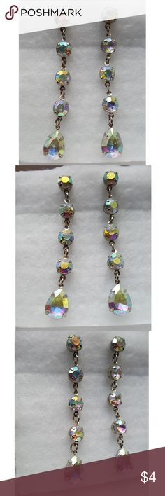 Earrings Never worn, light weight, pretty colors Charlotte Russe Jewelry Earrings
