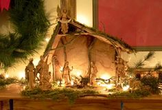 DIY Nativity Stable Tutorial by apple blossom
