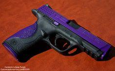 Customized Creationz Custom Gun Works Shop - Purple Gun :)