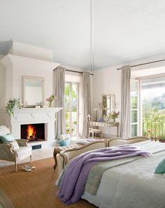 Dormitorios para disfrutar también de día · ElMueble.com · Dormitorios