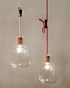 Landscape Products Bottle Lamps