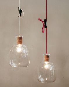 Landscape Products Bottle Lamps