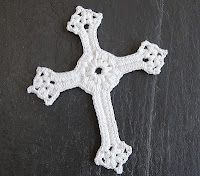 love this cross..free pattern