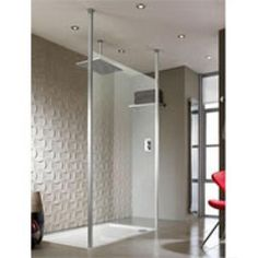 Feature Wall Tiled Bathroom  Shower enclosures