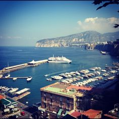 I love the beauty of Sorrento, but also the food and the shopping.  The best Limoncello I ever had was produced in Sorrento.
