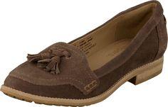 Timberland - Thayer Kiltie Loafer Dark Brown Timberland, Dark Brown, Oxford Shoes, June, Loafers, Women, Fashion, Moda, Fashion Styles