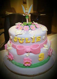 Tinkee bell cake