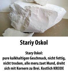 Essbare Kreide, Kreide zu essen, Kreide Russisch, 450gr. Kreide Stary Oskol.