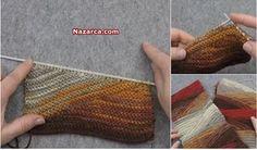 Crochet Leaf Patterns, Crochet Leaves, Knitting Patterns, Flap Hat, Batik Pattern, Knitting Videos, Knitted Blankets, Shawls And Wraps, Knit Crochet