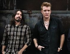 Josh Homme + Dave Grohl....two of my all time favs without question...