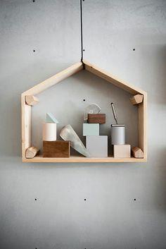 photo of unusual shelf - seen on OUI . OUI: STUDIOPEPE